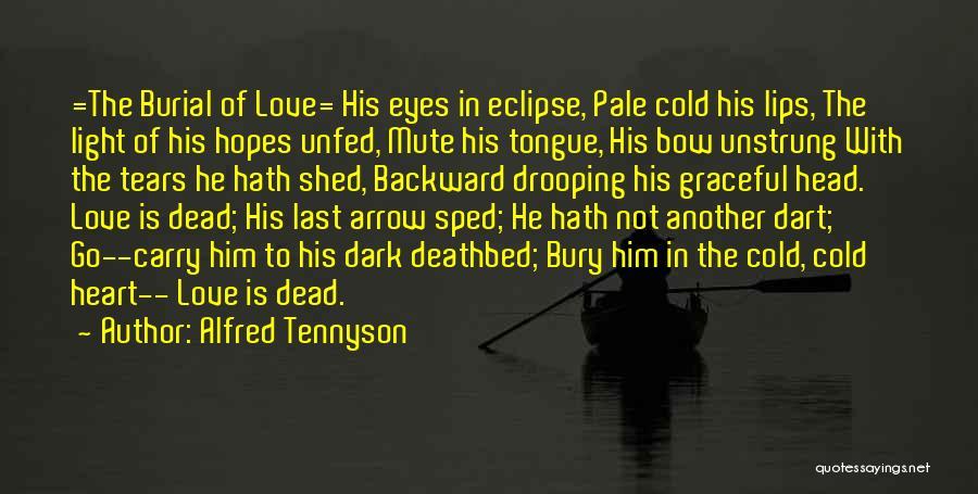 Dark Backward Quotes By Alfred Tennyson