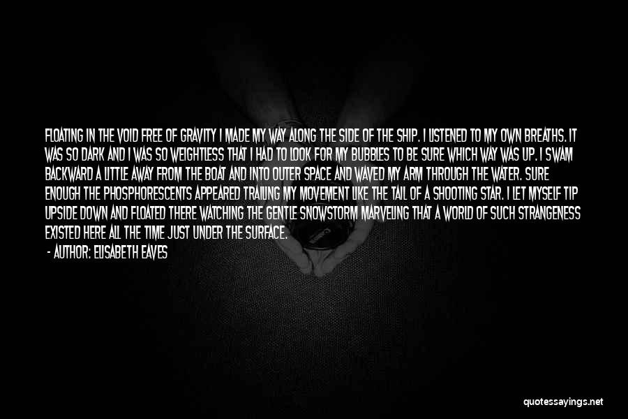 Dark Backward Quotes By Elisabeth Eaves