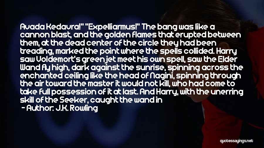 Dark Backward Quotes By J.K. Rowling