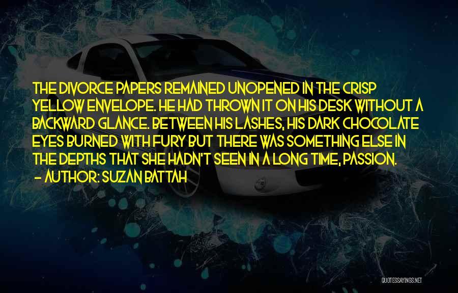 Dark Backward Quotes By Suzan Battah