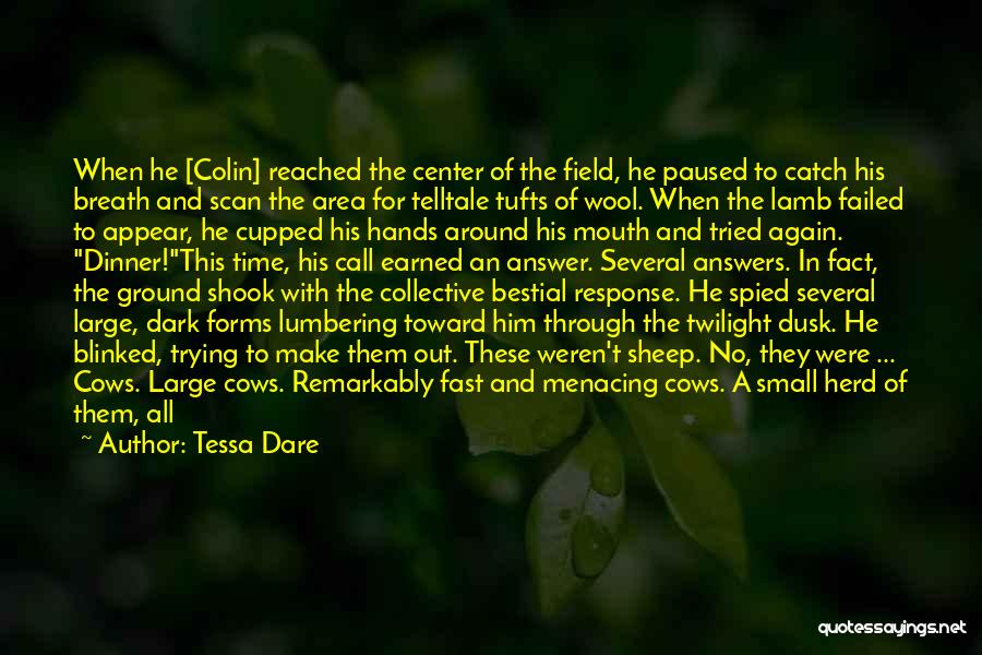 Dark Backward Quotes By Tessa Dare