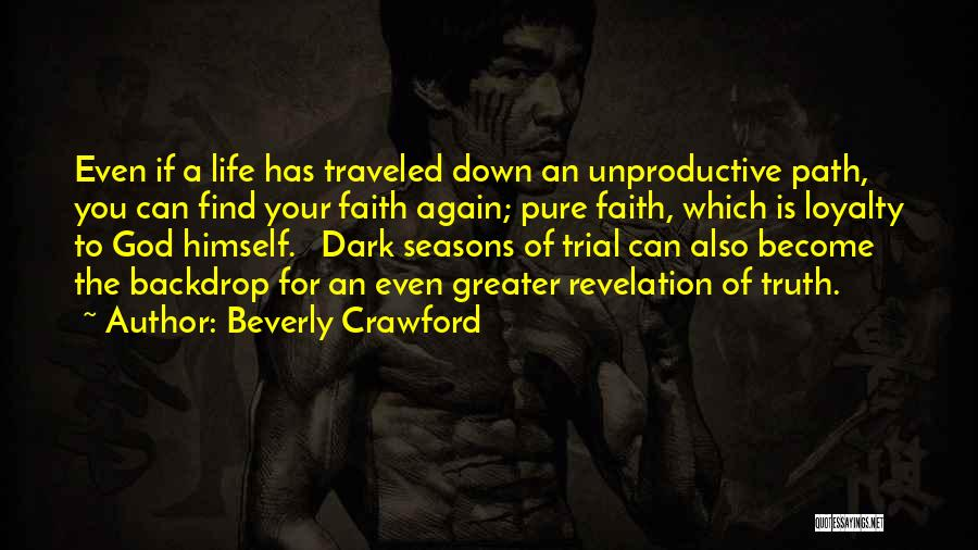 Dark God Quotes By Beverly Crawford