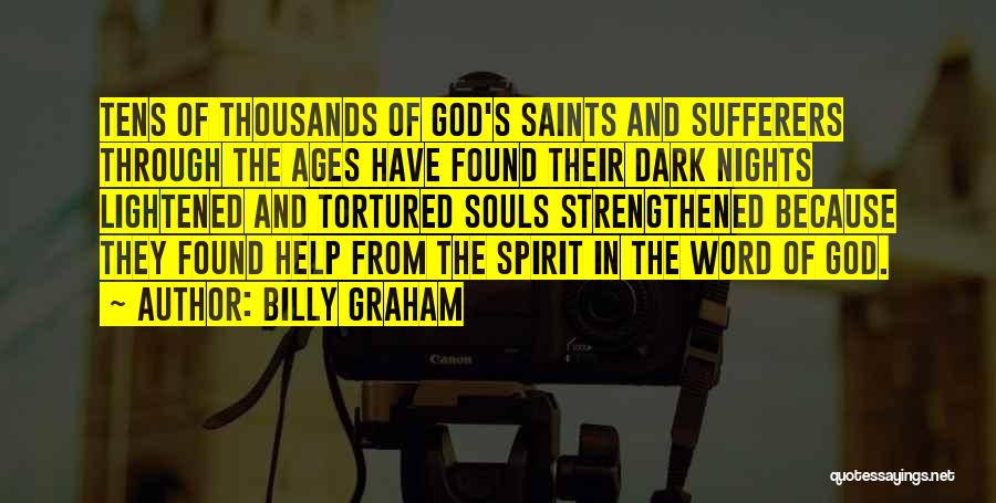 Dark God Quotes By Billy Graham