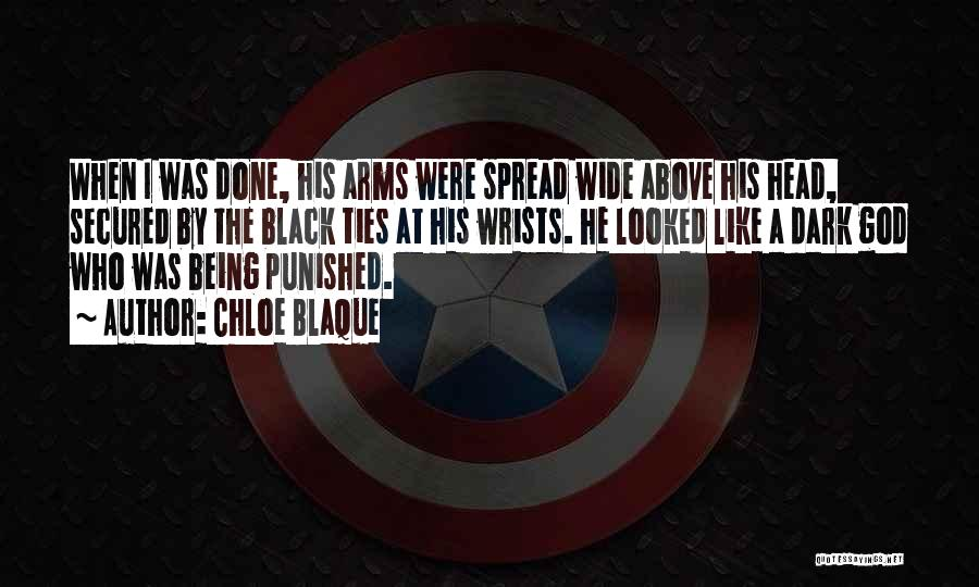 Dark God Quotes By Chloe Blaque
