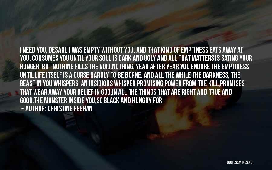 Dark God Quotes By Christine Feehan
