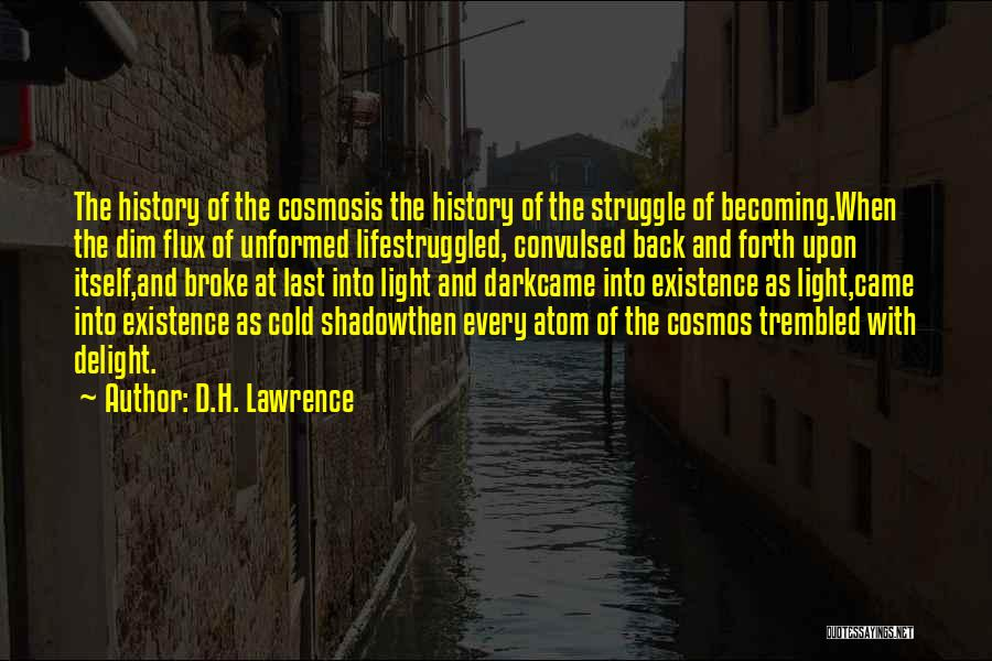 Dark God Quotes By D.H. Lawrence