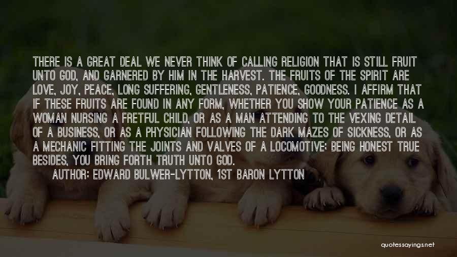 Dark God Quotes By Edward Bulwer-Lytton, 1st Baron Lytton