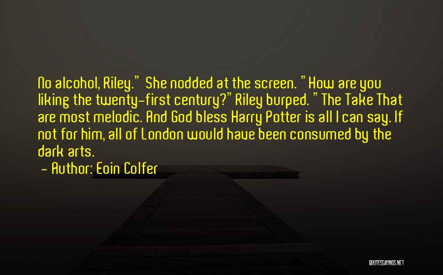 Dark God Quotes By Eoin Colfer