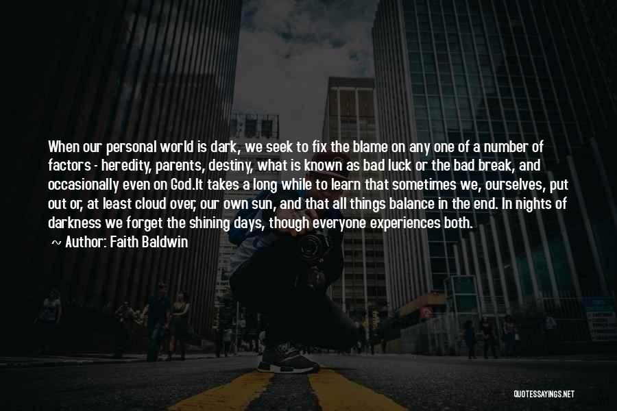 Dark God Quotes By Faith Baldwin