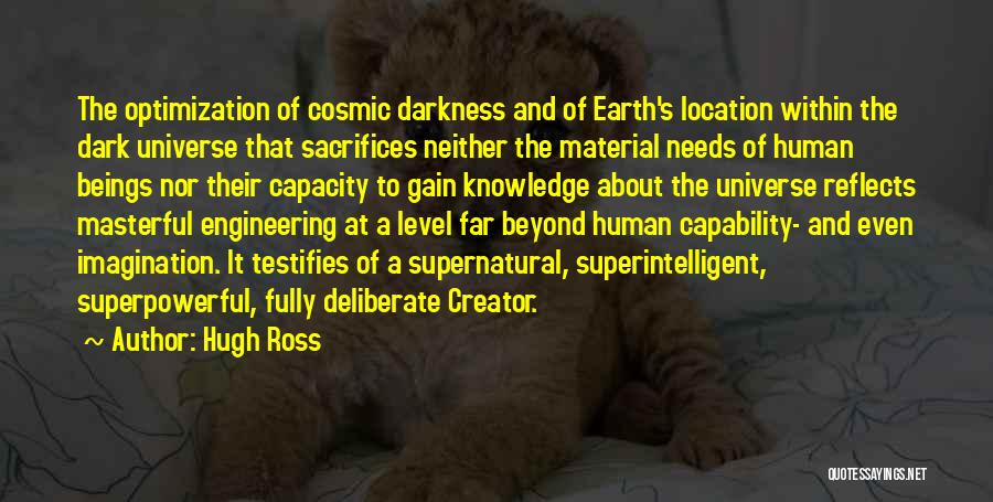 Dark God Quotes By Hugh Ross