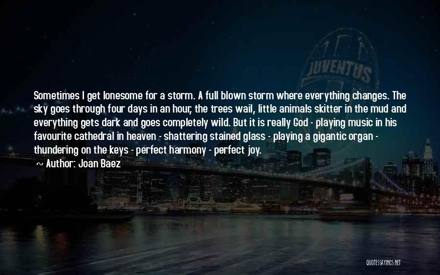 Dark God Quotes By Joan Baez