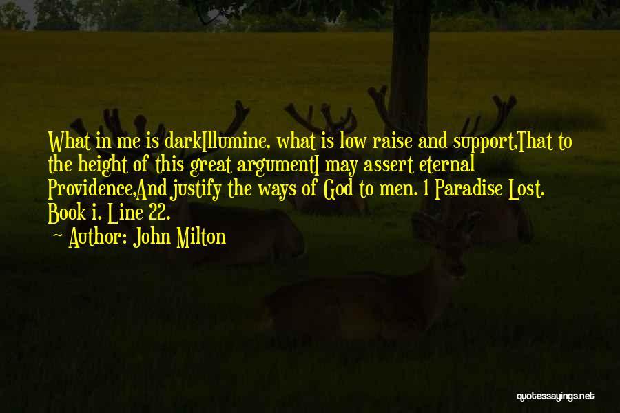 Dark God Quotes By John Milton