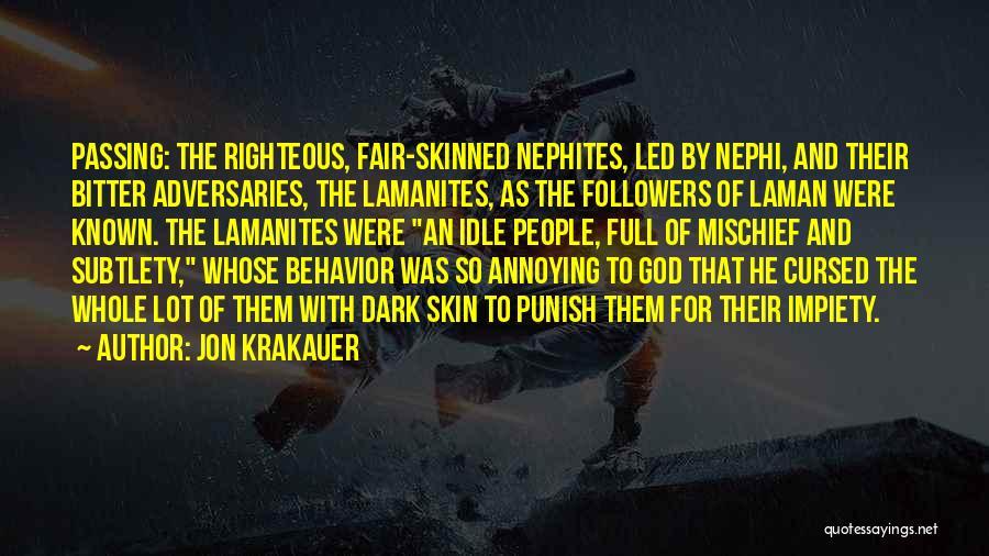 Dark God Quotes By Jon Krakauer
