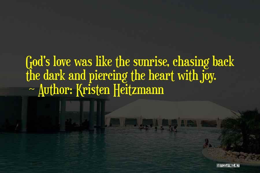 Dark God Quotes By Kristen Heitzmann