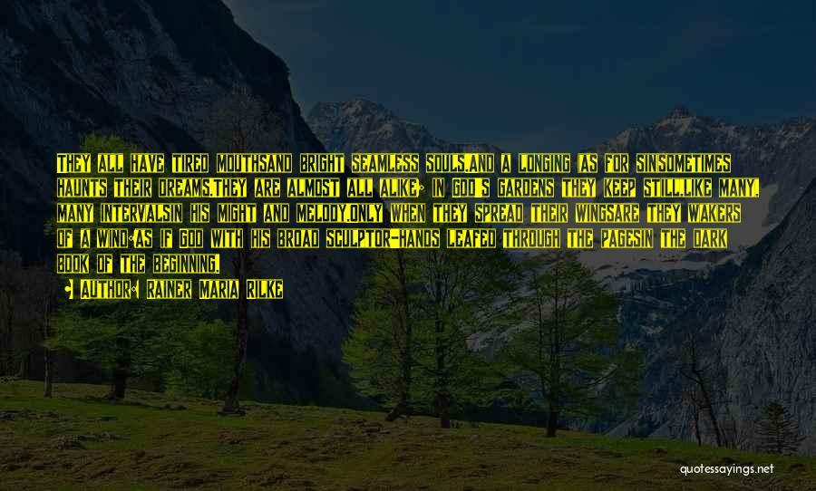 Dark God Quotes By Rainer Maria Rilke