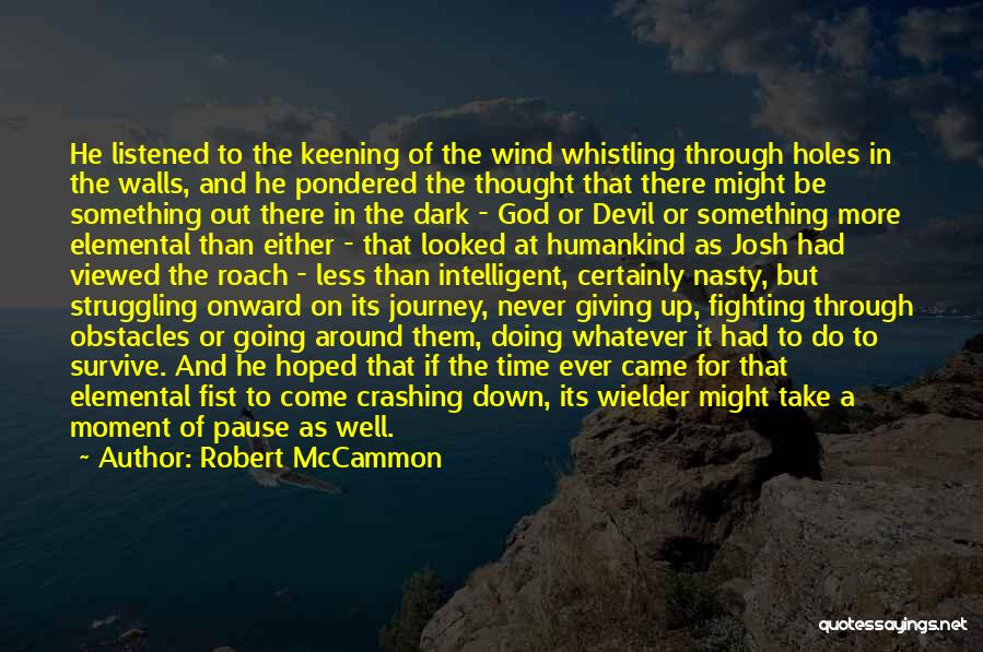 Dark God Quotes By Robert McCammon