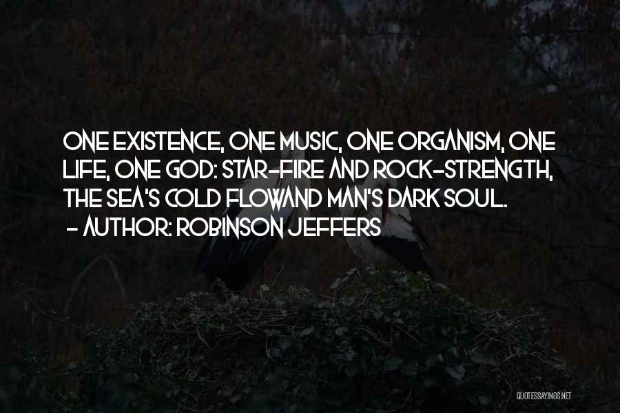 Dark God Quotes By Robinson Jeffers