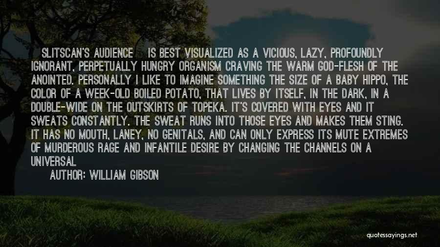 Dark God Quotes By William Gibson