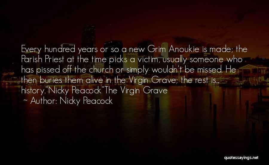 Dark Gothic Quotes By Nicky Peacock