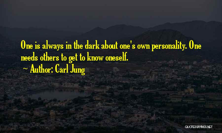 Dark One Quotes By Carl Jung