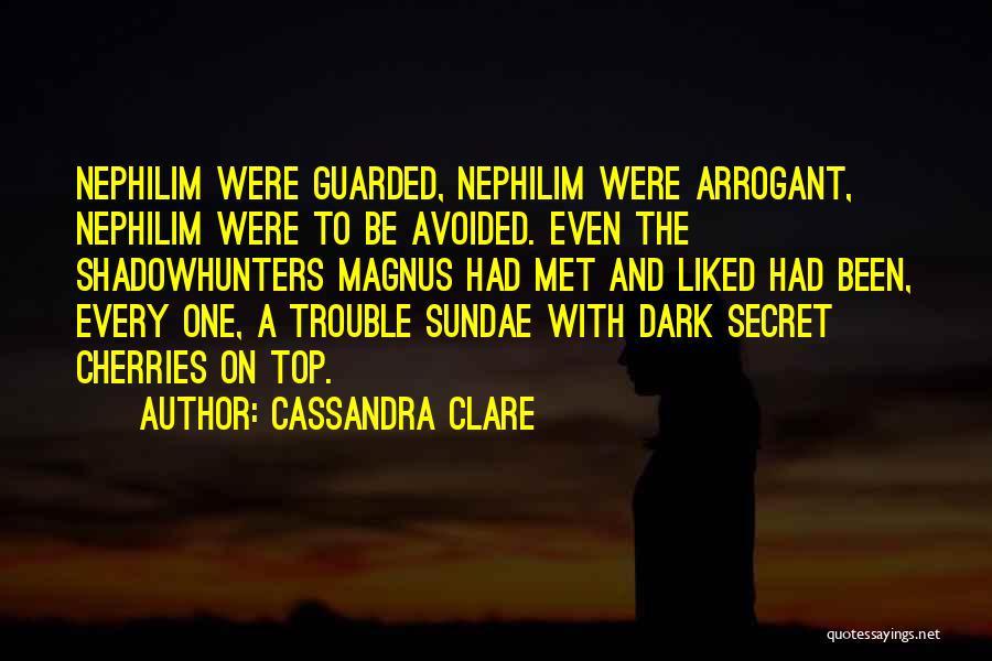 Dark One Quotes By Cassandra Clare