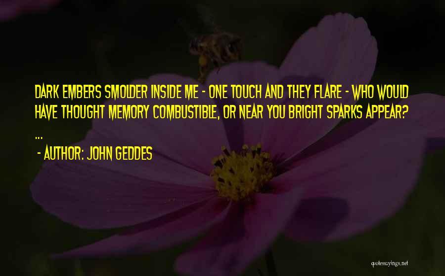 Dark One Quotes By John Geddes