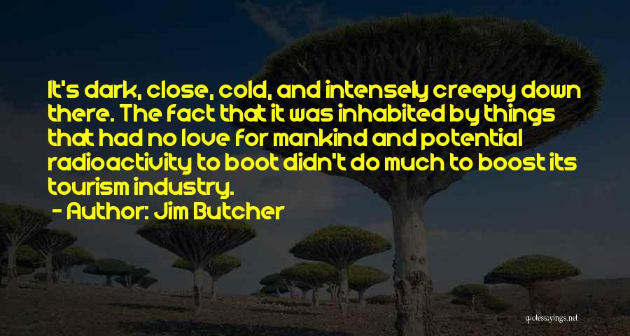 Dark Tourism Quotes By Jim Butcher