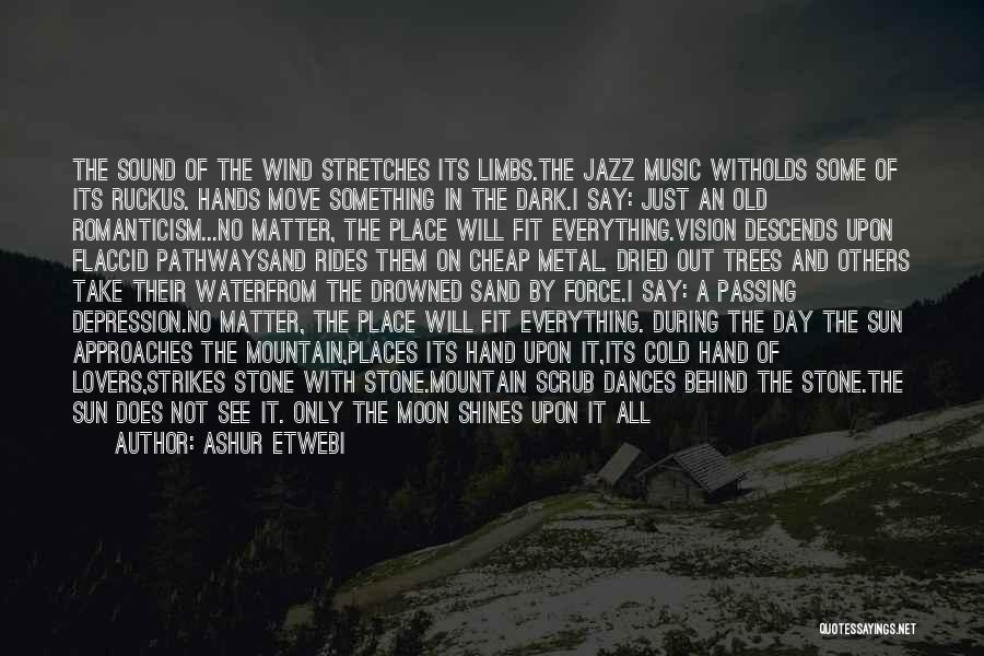 Dark Vision Quotes By Ashur Etwebi