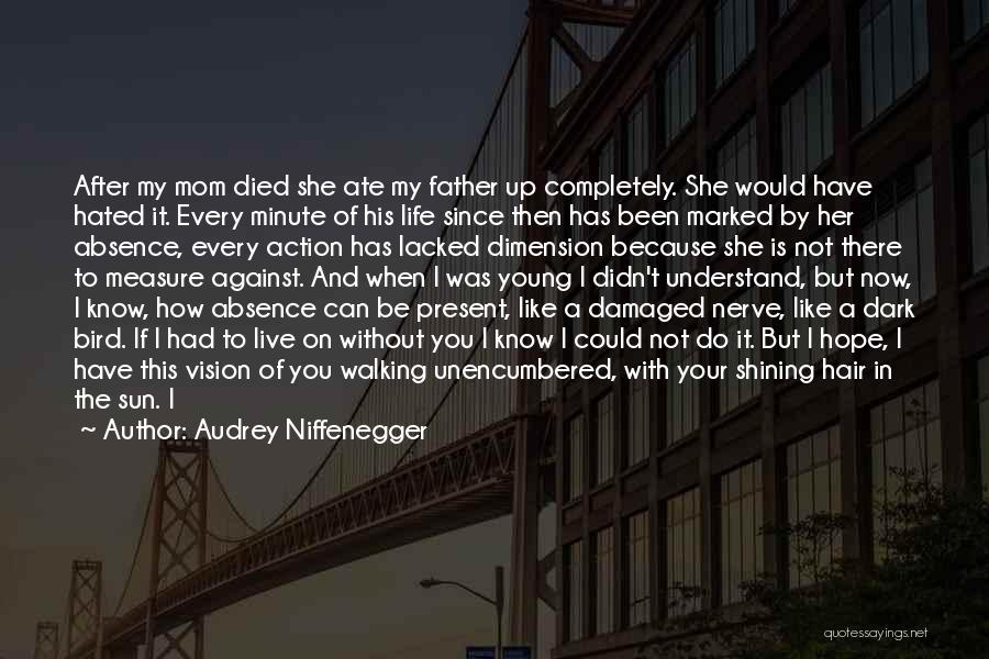 Dark Vision Quotes By Audrey Niffenegger