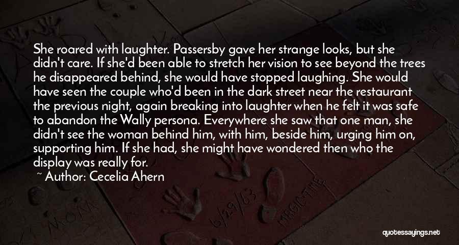 Dark Vision Quotes By Cecelia Ahern