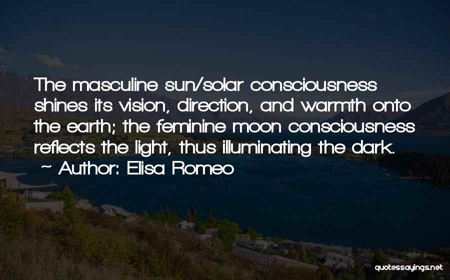 Dark Vision Quotes By Elisa Romeo