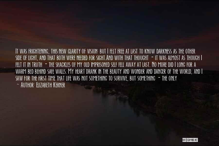 Dark Vision Quotes By Elizabeth Kerner