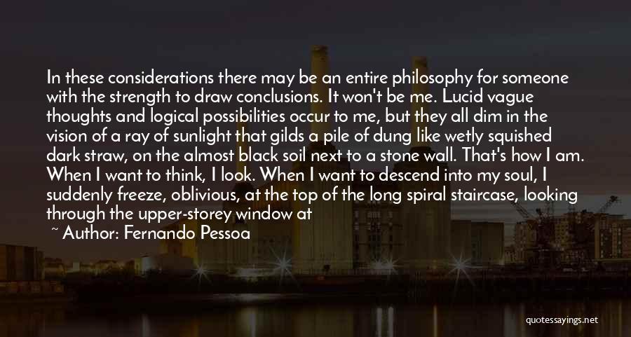 Dark Vision Quotes By Fernando Pessoa