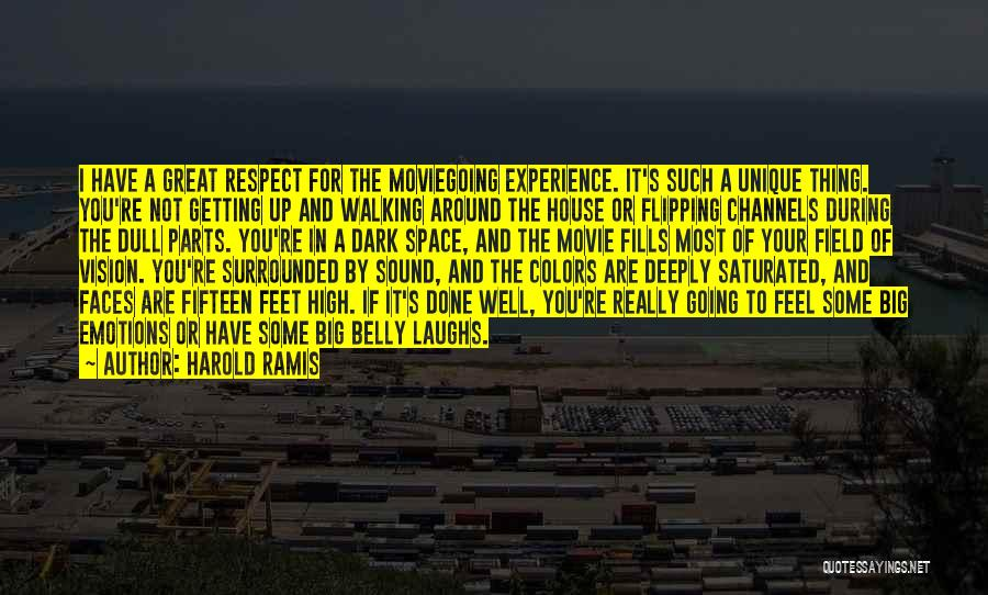 Dark Vision Quotes By Harold Ramis