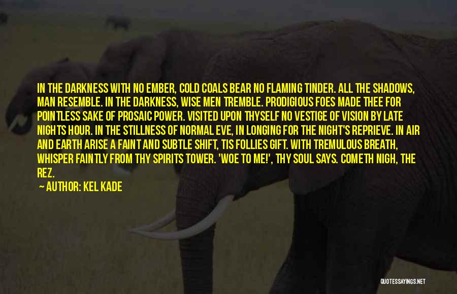 Dark Vision Quotes By Kel Kade