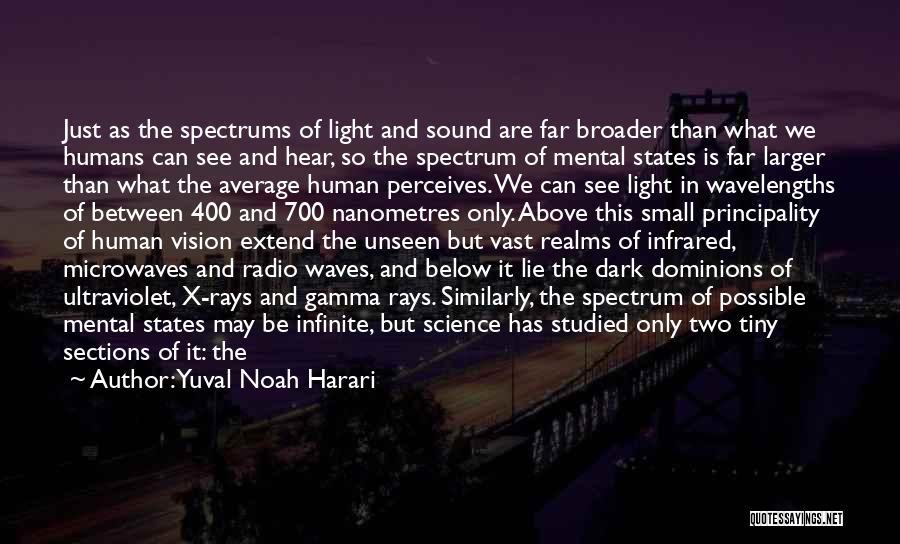 Dark Vision Quotes By Yuval Noah Harari