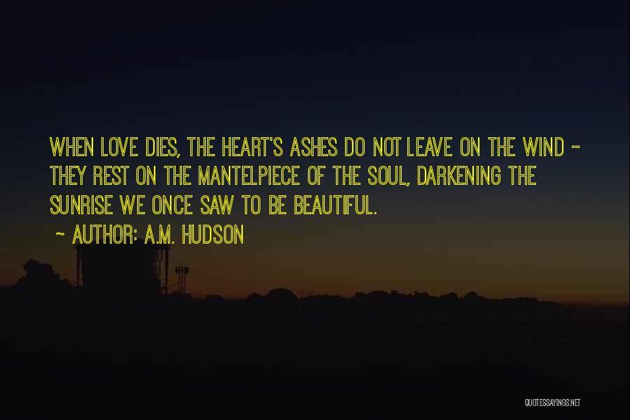 Darkening Quotes By A.M. Hudson