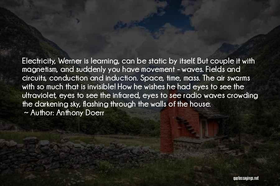 Darkening Quotes By Anthony Doerr