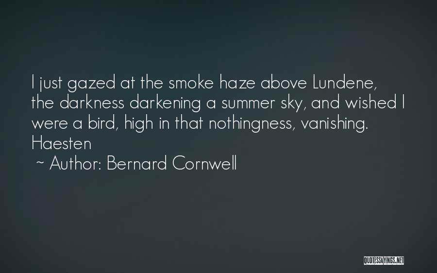Darkening Quotes By Bernard Cornwell