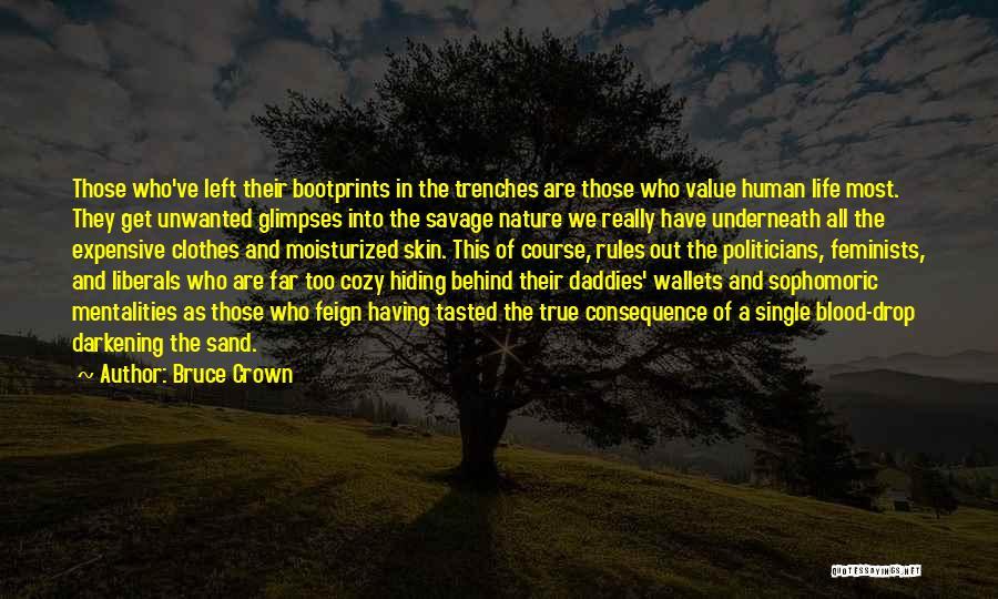 Darkening Quotes By Bruce Crown
