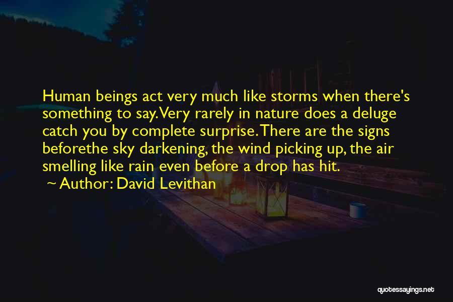 Darkening Quotes By David Levithan