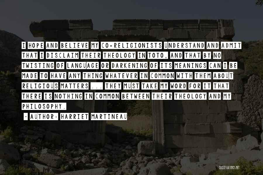 Darkening Quotes By Harriet Martineau