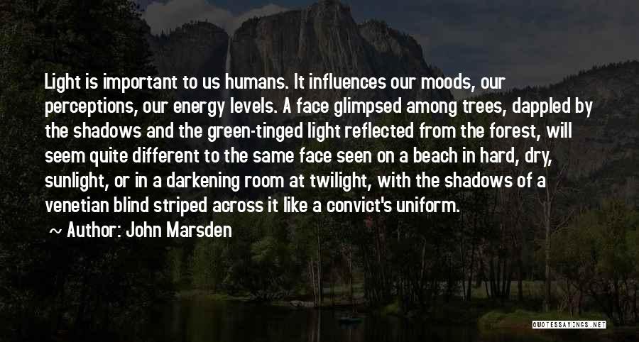 Darkening Quotes By John Marsden