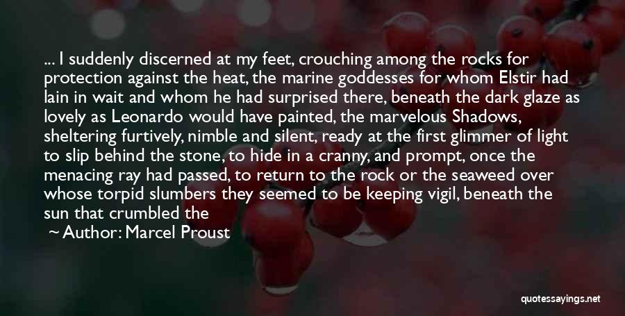 Darkening Quotes By Marcel Proust