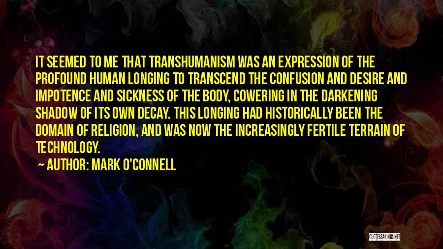 Darkening Quotes By Mark O'Connell