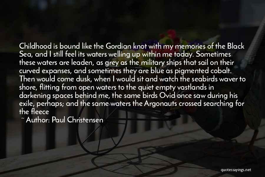 Darkening Quotes By Paul Christensen