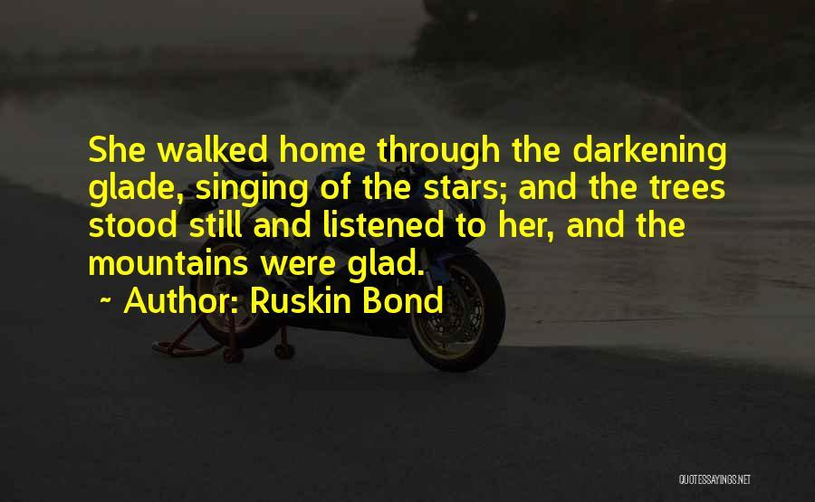 Darkening Quotes By Ruskin Bond