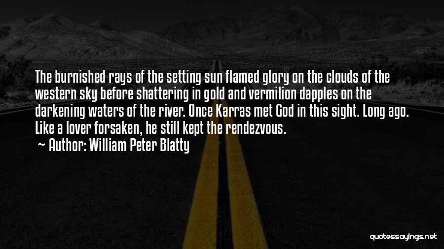 Darkening Quotes By William Peter Blatty