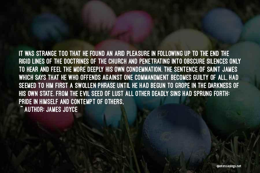 Darkness And Evil Quotes By James Joyce
