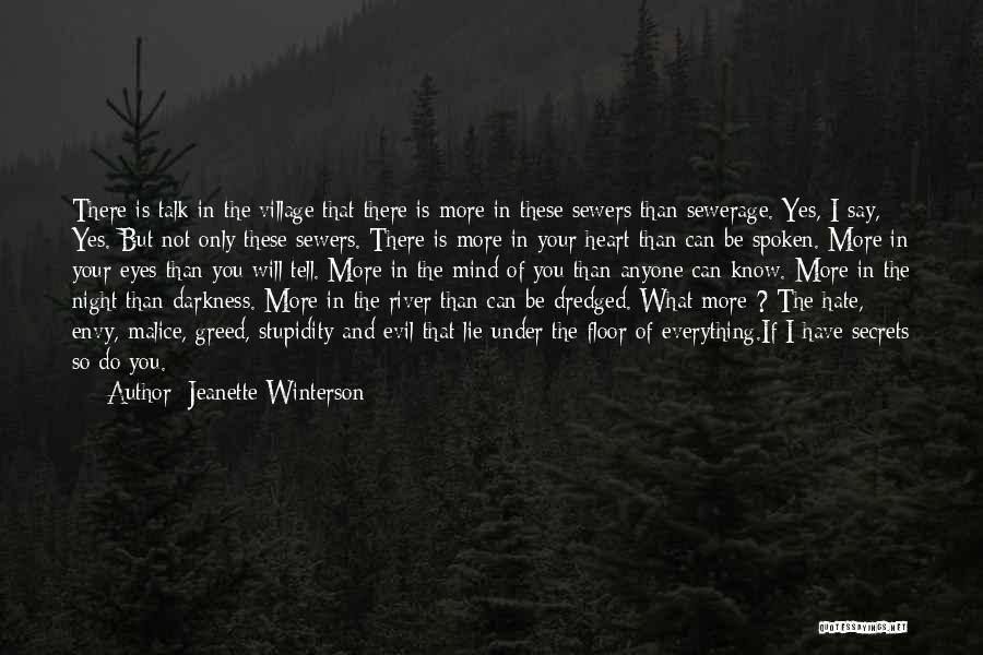 Darkness And Evil Quotes By Jeanette Winterson